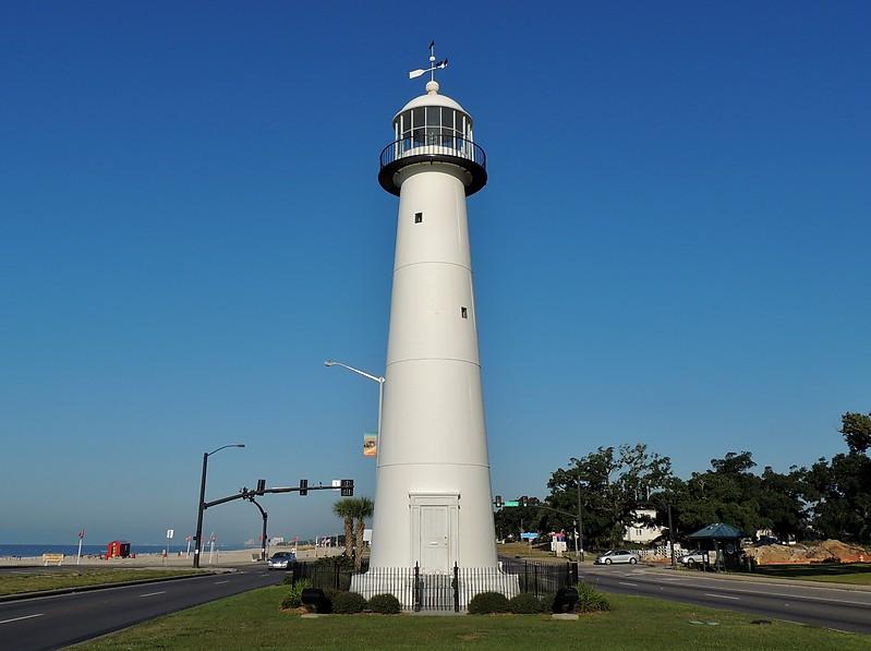 Gulf Coast Of Us Mississippi Biloxi Lighthouse World Of Lighthouses