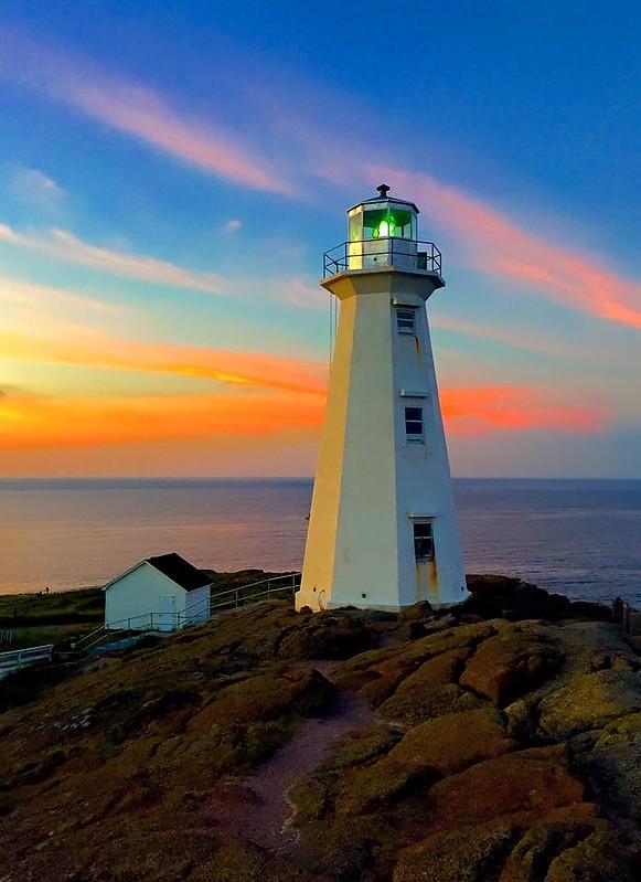 Atlantic coast of Canada - Newfoundland / Cape Spear ...