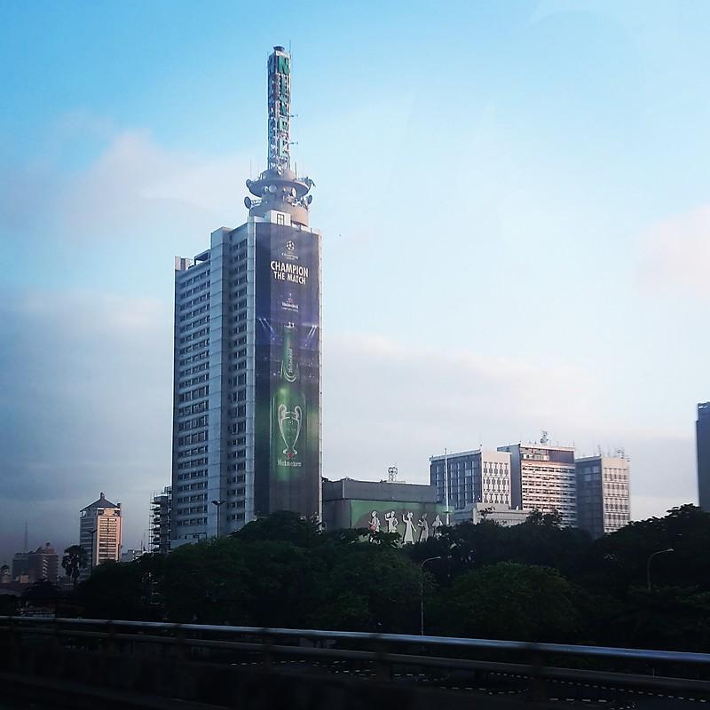 Nigeria - Lagos / Necom House light - World of Lighthouses