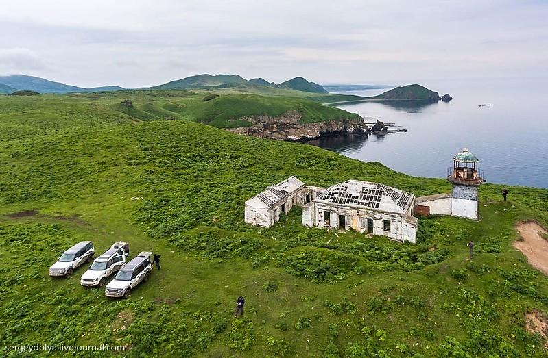 Far East of Russia - Sakhalin / Cape Kuznetsov lighthouse