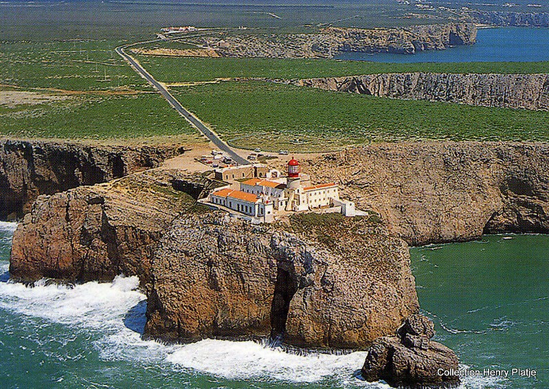 portugal sagres cabo sao vicente lighthouse world of lighthouses. Black Bedroom Furniture Sets. Home Design Ideas